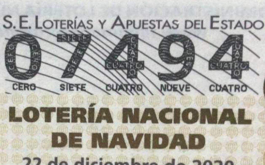 """Lotería """"25 Aniversario CHP"""" Navidad 2020"""