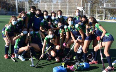 Cuando crecer te hace vencer: así es el equipo juvenil femenino del Club Hockey Pozuelo
